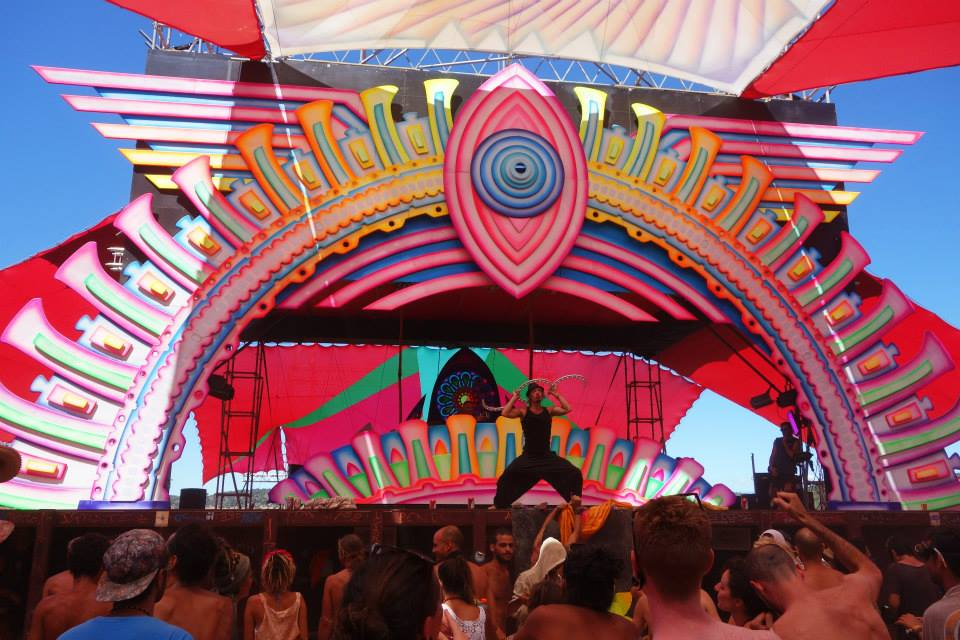 Jay Firecat at Boom Festival 2014