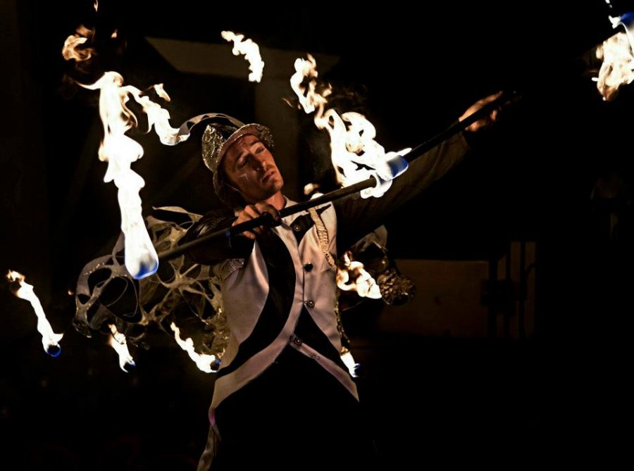 Jay Firecat Fire Performance