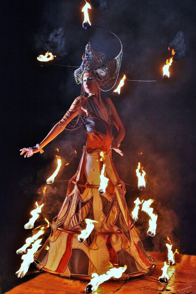 Fire Costume Linda Farkas
