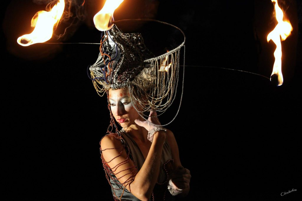 Linda Farkas Fire Costumes